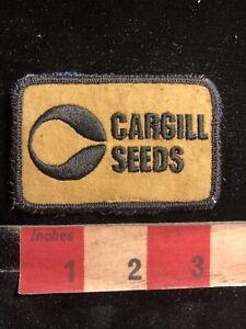 Vtg-Denim-On-Back-CARGILL-SEEDS-Farmer-Advertising-Patch-98II