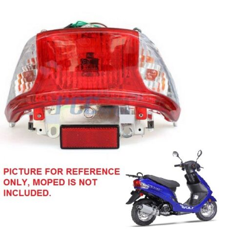 50cc Scooter Moped Motorcycle Rear Tail Light Taillight Jonway Sunl Sunny H LT45