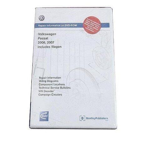 bentley vw cd rom repair manual passat 06 09 vb66 ebay rh ebay com vw passat 2006 service manual 2009 Passat