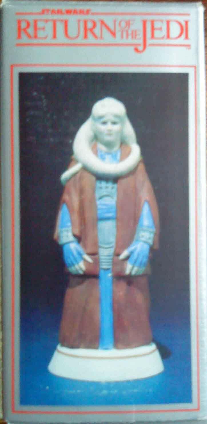 Star wars return of the jedi - 1983 bib fortuna hand painted figurine bnib