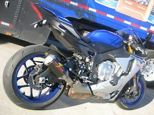 Details About Graves Motorsports Yamaha R1 2015 2019 Cat Back Slip On Exhaust Carbon