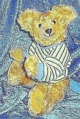 """Teddyschnitt - Schnitt-& Nähanleitung """"Dixie"""" 40 cm"""