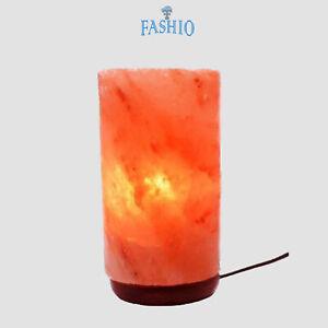 Himalayan Cylinder Natural Crystal Salt Lamp Rock Salt Lamp