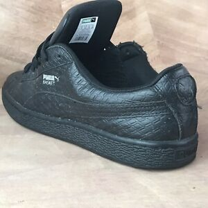 PUMA Basket Classic Leather Black