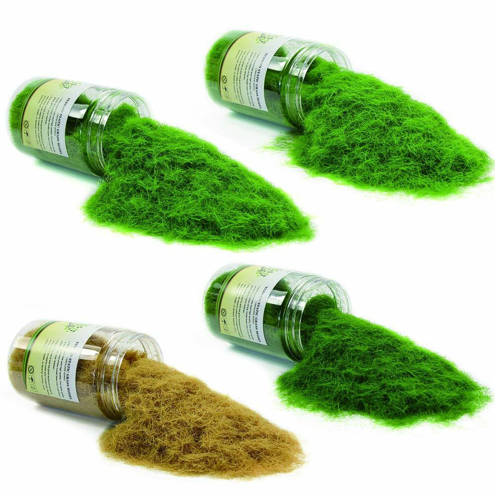 [Evermodel] Diorama DIY Artificial Grass Powder 8mm 4 colors from Japan