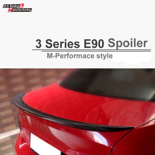 Carbon Fiber For BMW E90 Sedan Performance Style R-Trunk Spoiler 2005-2011 002