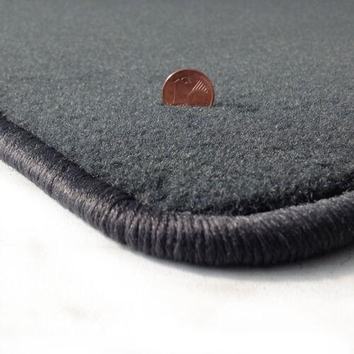 2001-2009 Velours anthrazit Fußmatten passend für JAGUAR X-Type Bj
