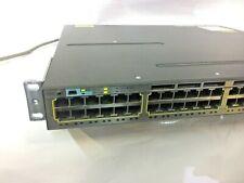 Cisco WS-C3560X-48T-L 48-Port Gigabit 3560X Switch w// 350W PWR 1 Year Warranty