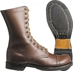 12ee Airborne Lederstiefel Boots 47 Brown Leather Corcoran Wwii Army Stiefel Us 4zgBqHSH