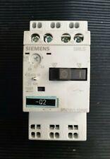 Siemens 3RV1011-1AA10 1.1-1.6A Manual Starter Motor Breaker 1no//1nc  SMMP0247