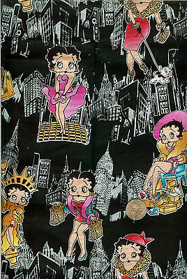 "FQ RARE M/&M HALLOWEEN COTTON FABRIC 18/""X22/"""