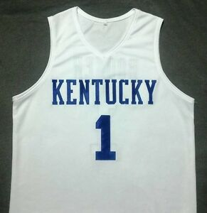 online store d3c31 6d757 Details about DEVIN BOOKER Kentucky Wildcats White Basketball Jersey Gift  Any Size