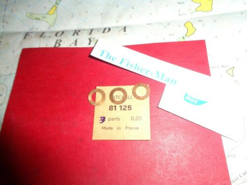 3 MITCHELL 304 SHIMS FOR ROTATING HEAD GARCIA MITCHELL CAP NEW SHIMS PART 81125
