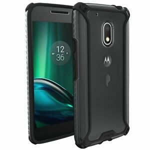 Poetic-Affinity-Black-Case-Thin-Dual-Material-Bumper-For-Moto-G-Play-G4-Play
