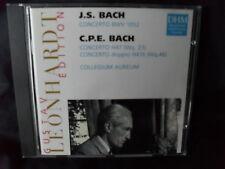 C.P.E. & J.S. Bach - Concertos For Harpsichord  -Collegium Aureum / Leonhardt