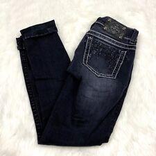 7d5a6b96e9041 item 1 Miss Me 26 Womens Dark Wash Distressed Cuffed Skinny Denim Jeans -Miss  Me 26 Womens Dark Wash Distressed Cuffed Skinny Denim Jeans