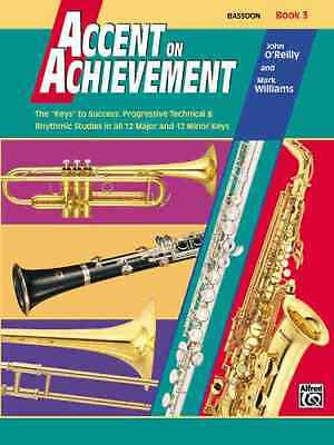 Bassoon Alfred Publishing Co 0018055 Accent On Achievement Book 3