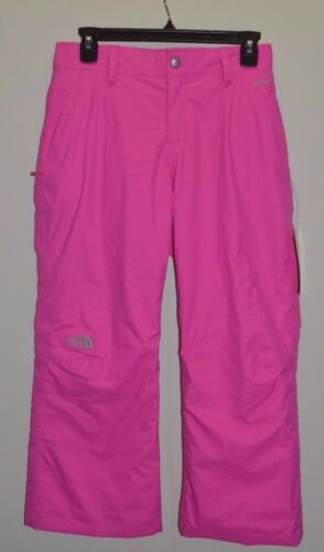 North Face Kids Girls Derby Waterproof Insulated Ski Pants Pink L = 14-16 New