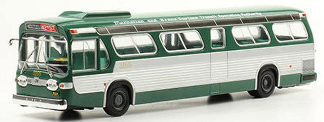 Bus GM NEW LOOK FISHBOWL TDH-5303 1 43 NIB  US Seller  NYC Transit-Manhtn& Bronx