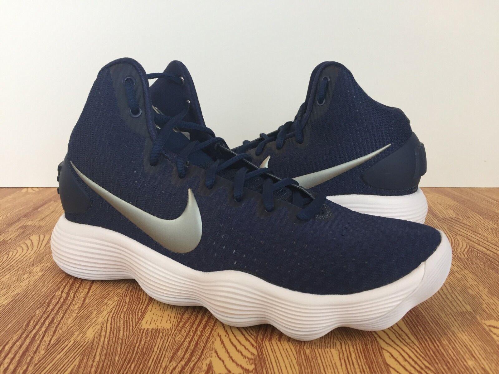 Nike Hyperdunk 2017 TB Men's Basketball shoes 897808-400 Midnight Navy SIZE 7