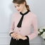 Top-Camisa-de-mujer-OL-Formal-Damas-Mangas-Largas-Oficina-uniforme-Top-Blusa miniatura 6