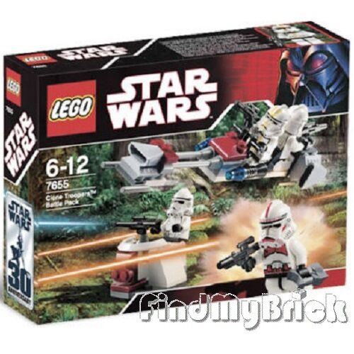 Nouveau - Lego Star Wars Clone Troopers Paquet Combat Combat Combat 7655 - Neuf sous Emballage 9afd82