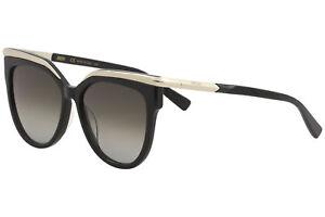 9a521621cc0d MCM Women's MCM637S MCM/637/S 001 Black Fashion Round Sunglasses ...
