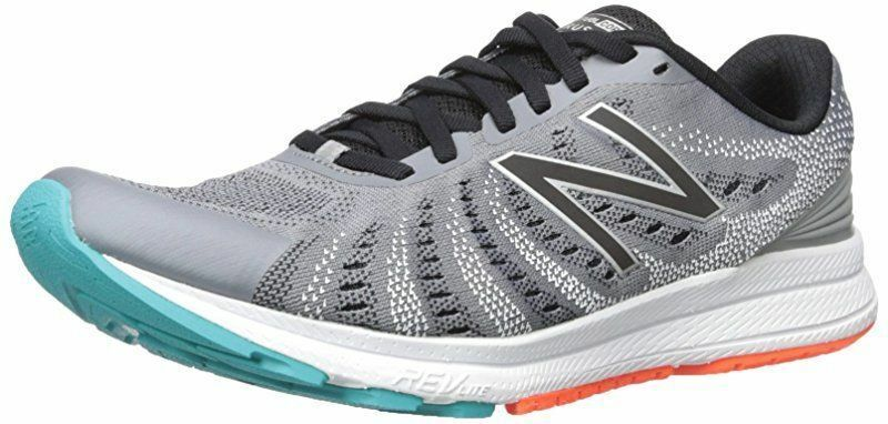 New Balance Homme RUSHV3 Running Chaussures Sneakers Steel/Noir