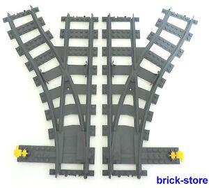 Lego-Trains-2-X-Rendement-1x-Liens-1xrechts-3677-7938-7939-60051-60052