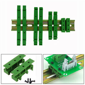 PCB-DRG-01-02-03-04-DIN-Rail-Adapters-Circuit-Mounting-Board-Holder-Bracket-New