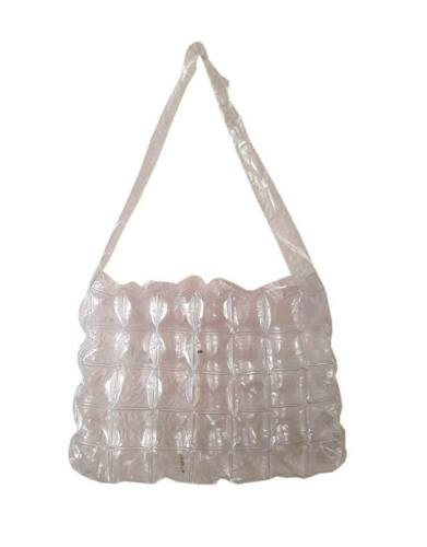 LADIES GIRLS FUNKY INFLATABLE BUBBLE SHOPPING BEACH BAG MAX 28-85