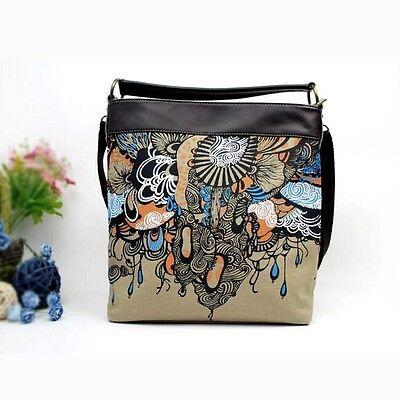 Hot! Womens Shoulder Carrying Girl Satchel Messenger Casual Shoulder Canvas Bag