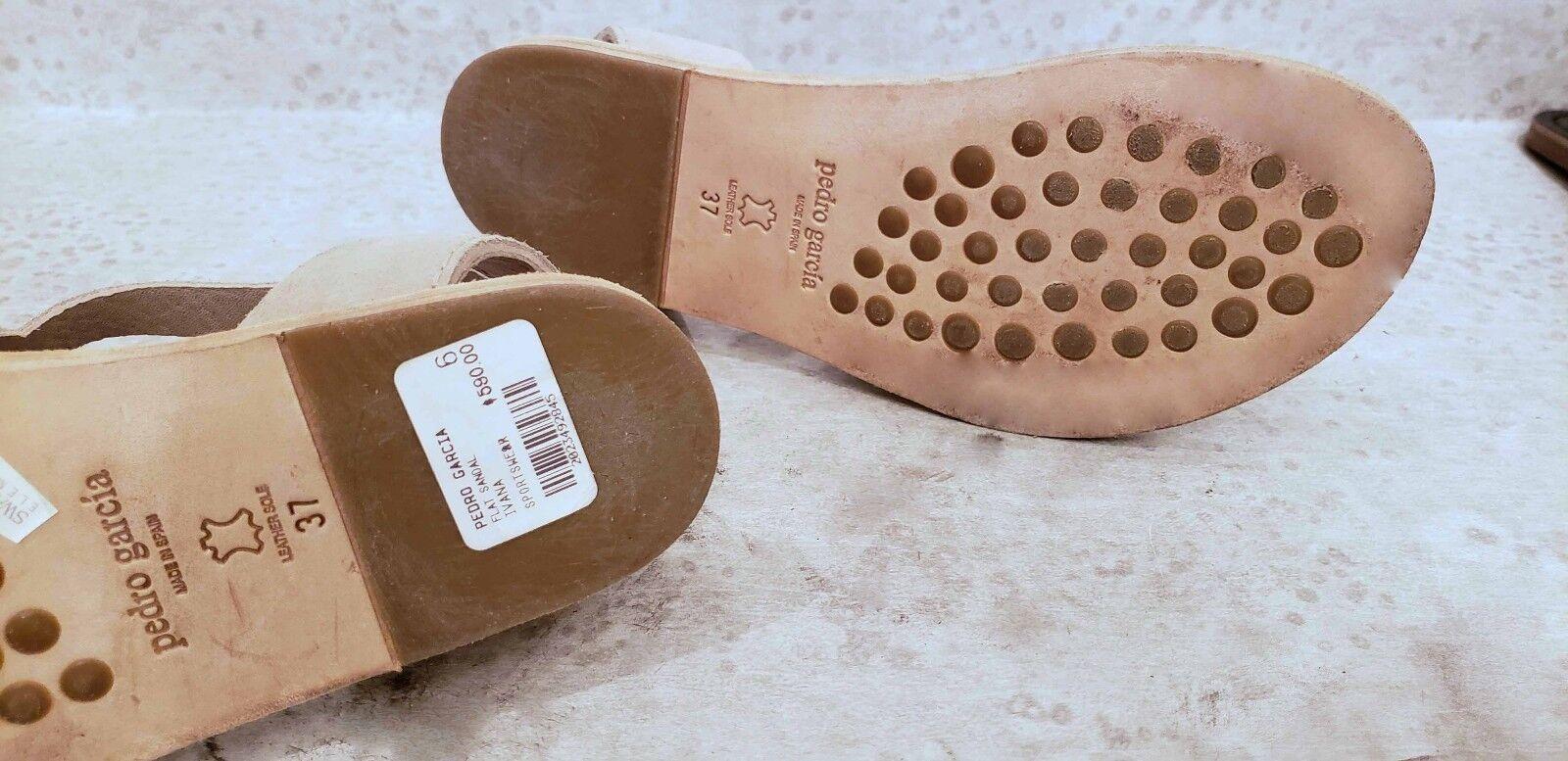 Pedro Garcia Ivana crystal sandals  size size size 37 us size 6.5  590 22a2d5