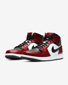 air jordan 1 mid rojo