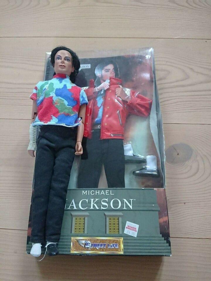 Dukker, Michael Jackson dukke + tilbehør sæt