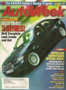 AUTOWEEK-2004-NOV-01-BMW-330i-SPYKER-C8-SPYDER-RUF-RGT-RS-PAGANI-ZONDA