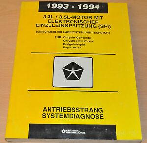 Werkstatthandbuch Chrysler 1993/94 3,3/3,5l Motor Elektr Einzeleinspritzung Warmes Lob Von Kunden Zu Gewinnen Service & Reparaturanleitungen