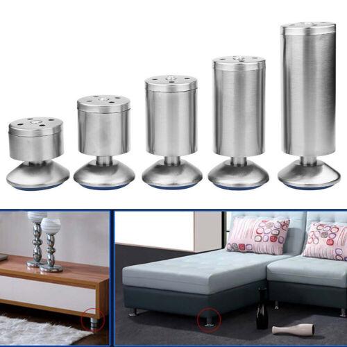 Möbelbeine Sofa Beine Schrank Bett Tisch Schrankfüße Sockelfuß Möbelfuß 80-200mm
