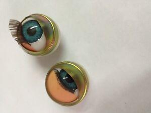 11 mm Bleu Ouvert & Close Dormant Yeux pour Vinyle Têtes avec Œil Poches grRnroT5-08125354-990426766