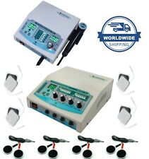 Pro Combo 4 Channel Physio Therapy Unit Ultrasound 3mhz Therapy Massager Machine