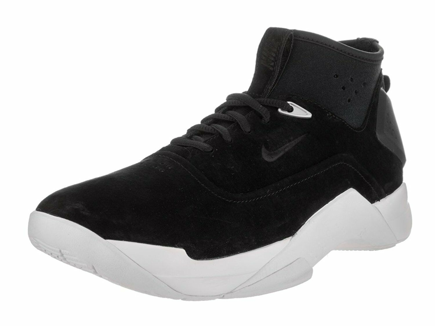 NIKE Men's Hyperdunk Low Lux Basketball Shoe BLACK WHITE 864022 001 7 9 9.5 10