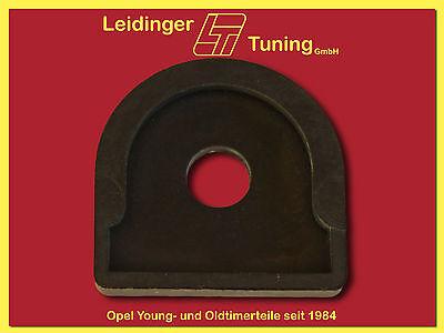 2x Gummi // Unterlage Stoßstange Opel Ascona B Opel -NOS Neu orig Manta A