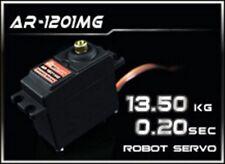 NUOVO SERVO ROBOT POWER HD CON INGRANAGGI IN METALLO 13.5Kg 0.055 sec. AR-1201MG
