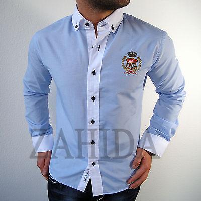 Jeel Herren Business Büro Chef Hemd Hemden Slim Fit Manager Luxus Designer NEU