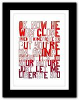 ROBIN THICKE  Blurred Lines ❤ song lyrics typography poster art print - A1 A2 A3