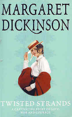 Twisted Strands by Margaret Dickinson, Acceptable Book (Paperback) Fast & FREE D