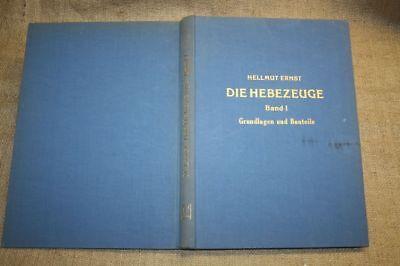 Technik Krananlagen Bauteile Kran Gastfreundlich Fachbuch Hebezeuge 1958 Reich Und PräChtig Mobilkran