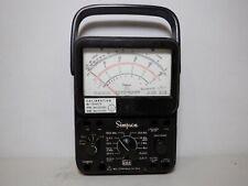 Simpson 260 Series 7 Overload Protected Meter