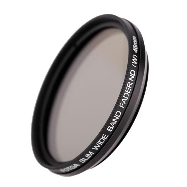 Fotga 46mm Slim Fader Variable ND Filter Adjustable Neutral Density ND2 to E8K5