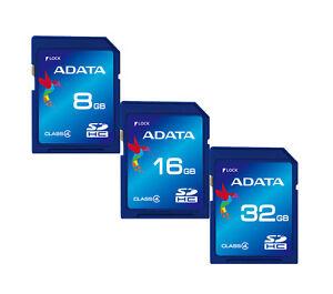 ADATA-Class-4-8GB-16GB-32GB-SDHC-SD-Card-Flash-Memory-for-DSLR-Camera-Tablet